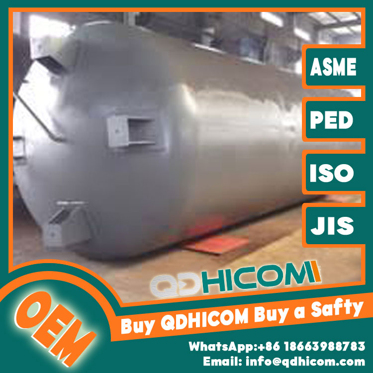 Stainless Steel Storage Tank 12000L 1.3Mpa