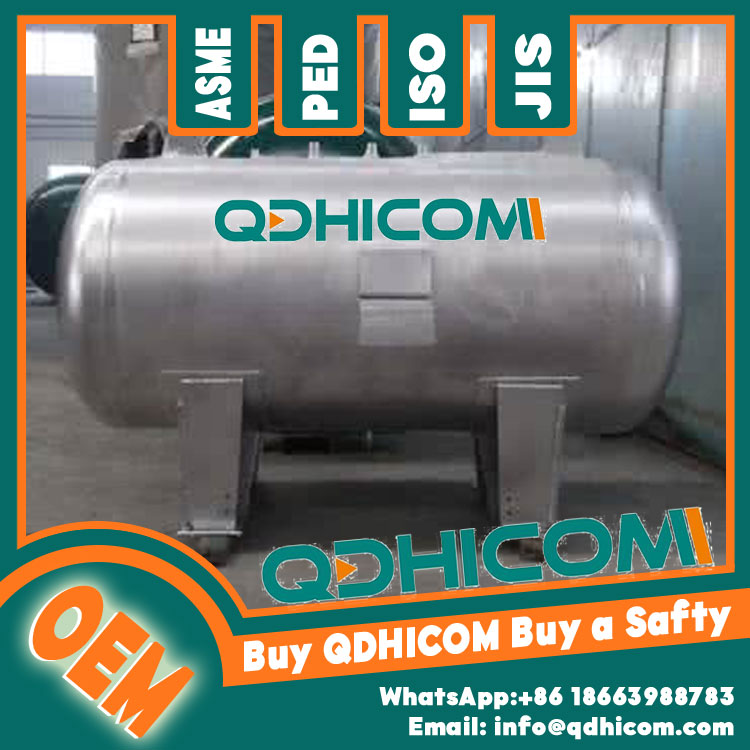Stainless Steel Storage Tank 500L 0.8Mpa