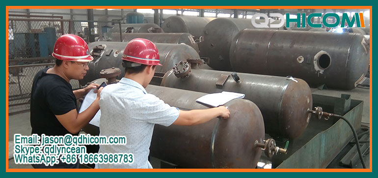 The Whole Process of ASME Air Receiver Tanks by BV inspection company