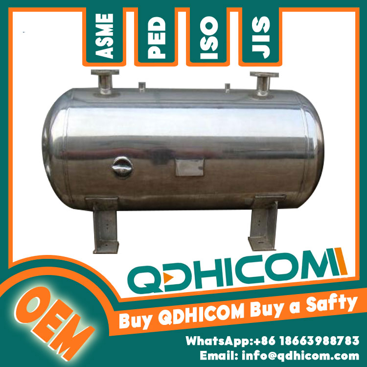 Stainless Steel Storage Tank 4000L 1.3Mpa