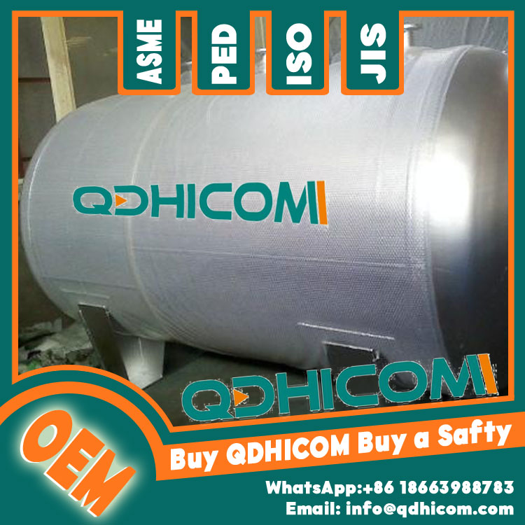 Stainless Steel Storage Tank 12000L 0.8Mpa