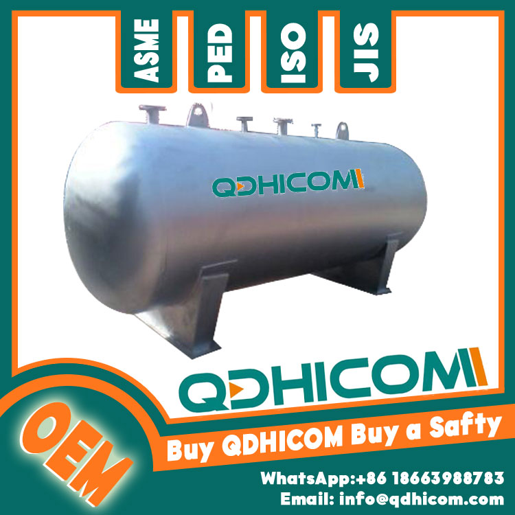 Stainless Steel Storage Tank 15000L 0.8Mpa